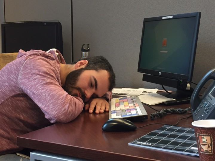 Falling asleep at work? Maybe you've got your break schedule all wrong.