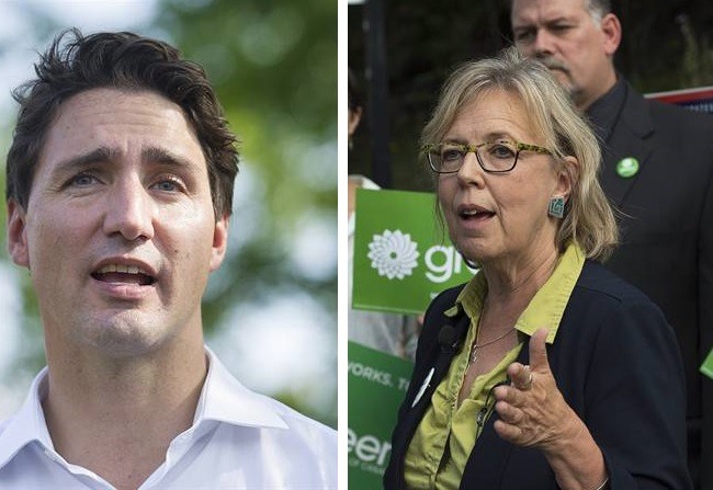 Prime Minister designate Justin Trudeau has invited Green Party Leader Elizabeth May to important upcoming talks regarding climate change.