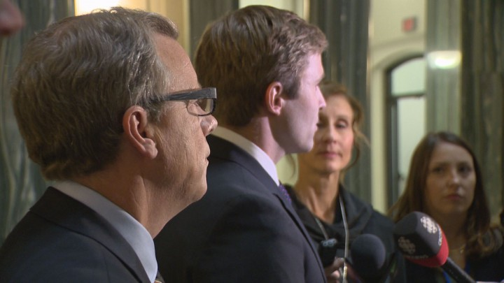 New Brunswick Premier Brian Gallant continued his western trip talking up the Energy East pipeline in Saskatchewan.