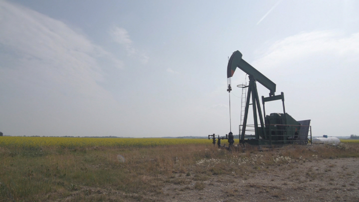 File photo of an oil well.