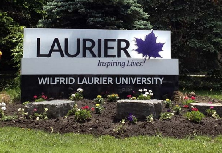 Photograph of Wilfrid Laurier University campus in Waterloo, Ont.