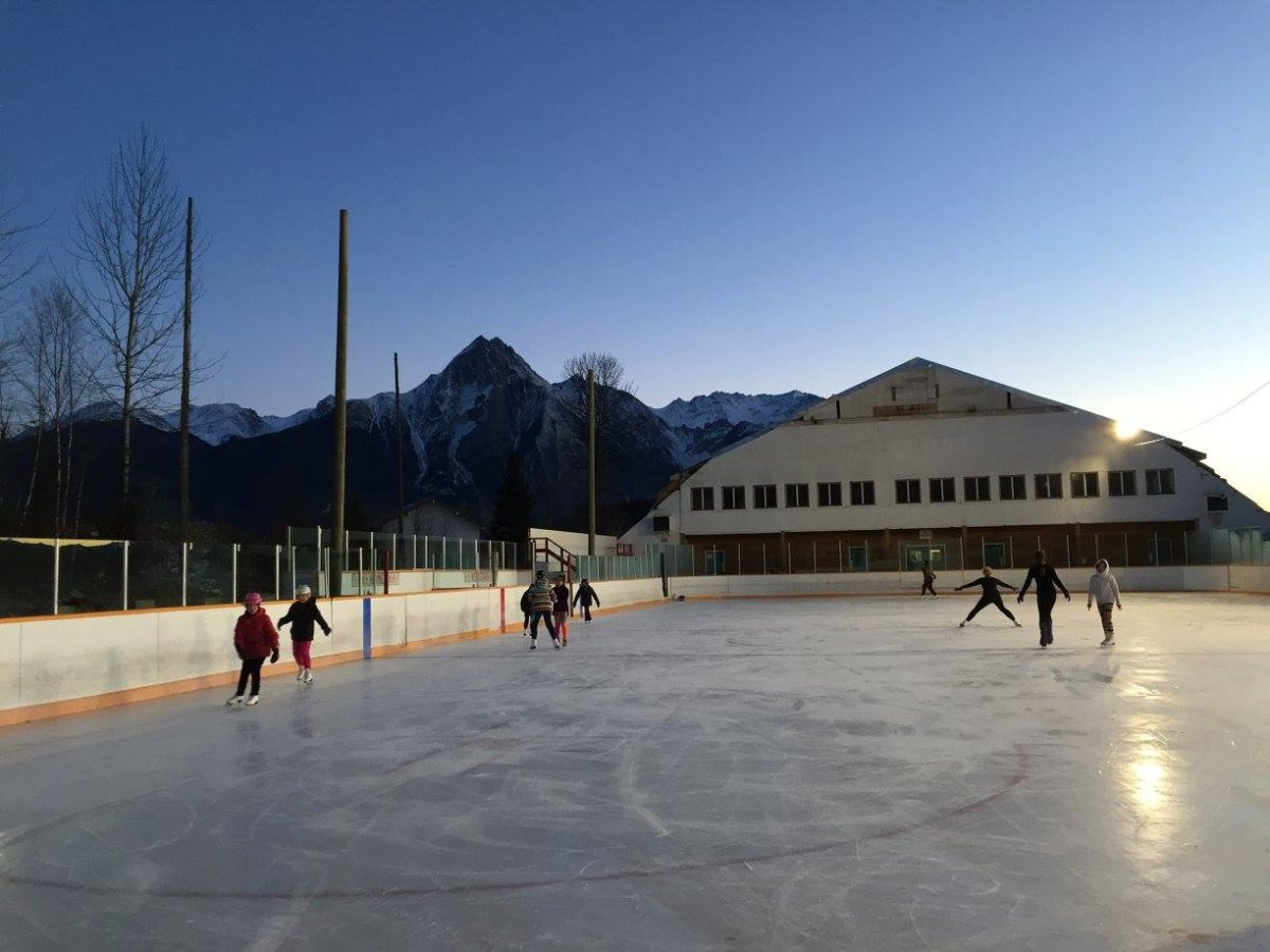 Hazelton's outdoor rink offers both hockey, and hope for the future - image