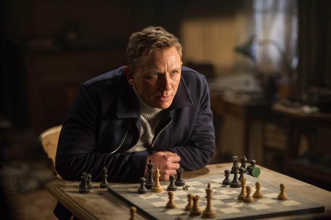 Daniel Craig appears in a scene from the James Bond film, 'Spectre.'.