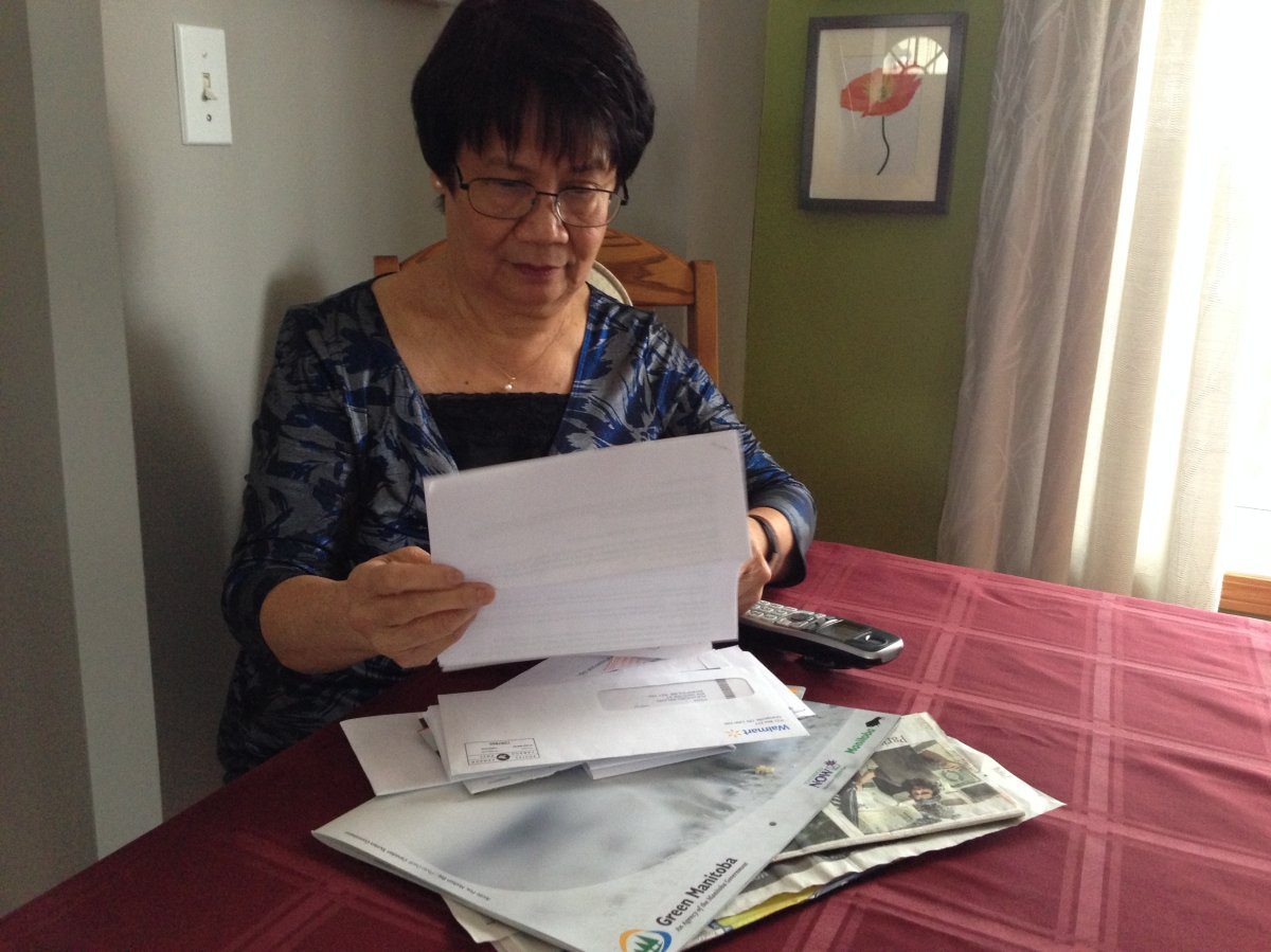 Monina Relano wants to warn new Canadians about a phone scam that targets them.