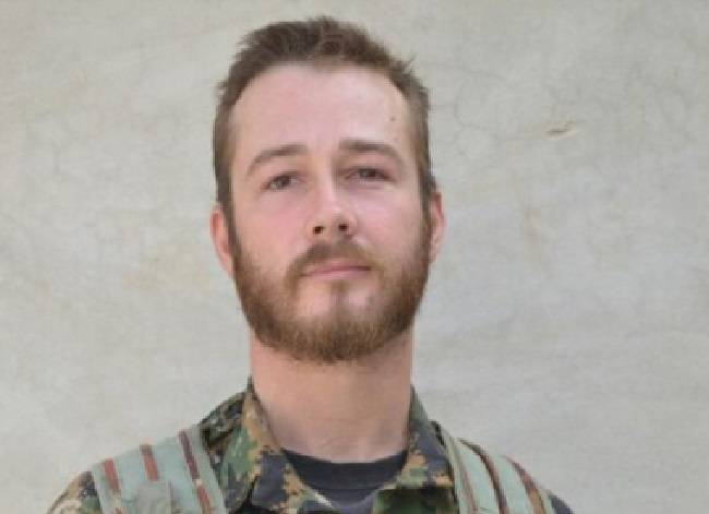 The Syrian Observatory for Human Rights posted this picture of Canadian John Gallagher, who has reportedly been killed by a suicide bomb blast in Syria.
