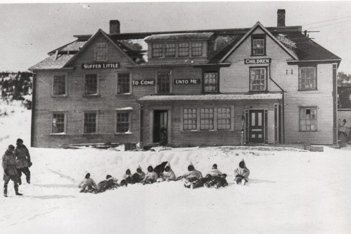 Residential school and orphanage in St. Anthony