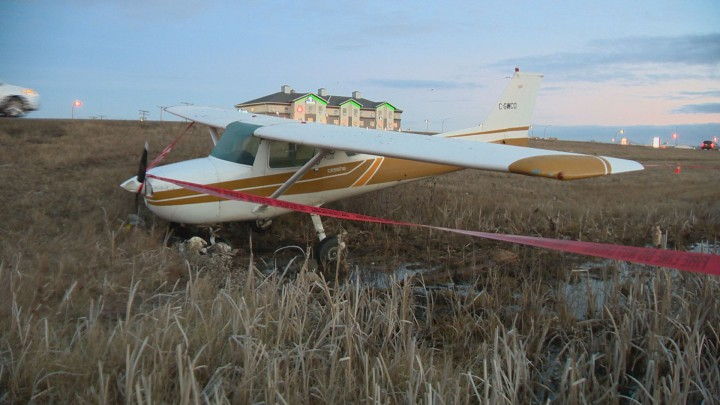 Daniel Cotton managed to avoid the highway, power lines and nearby buildings after the engine of his Cessna cut out late Friday afternoon.