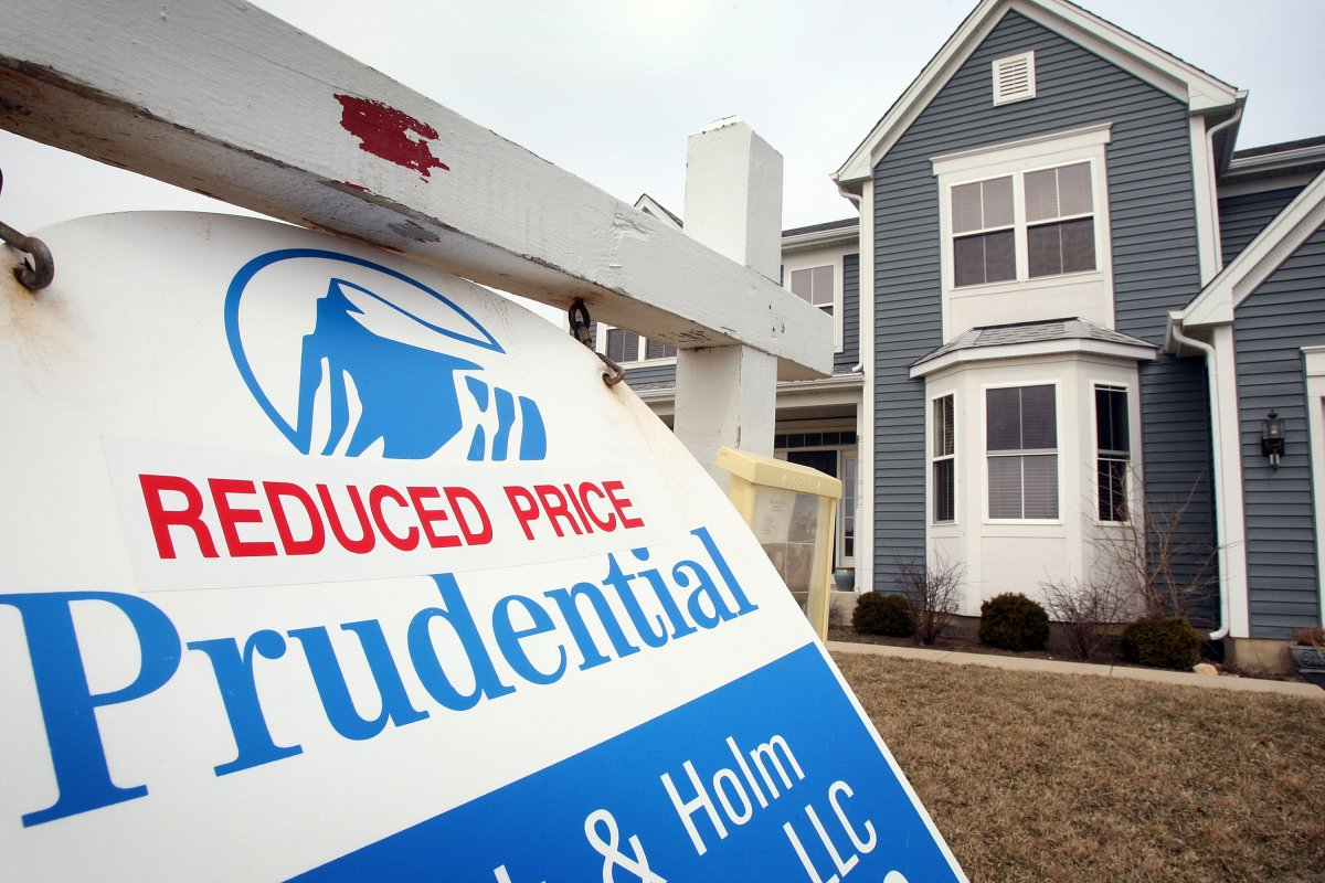 Home prices are under pressure in areas hit by the slump in oil and other commodities.