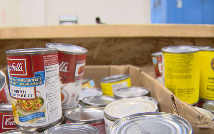 A national report states food banks across Canada have reported an increase in the number of people they're serving.