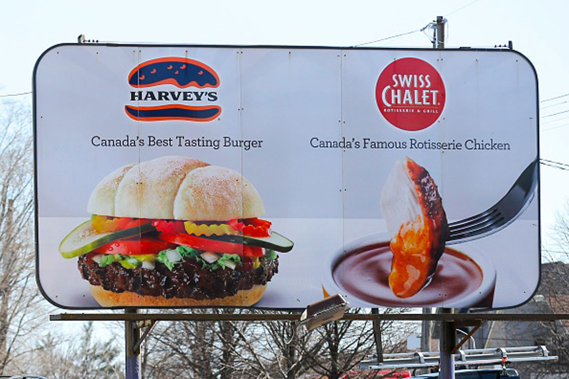"""Sales and traffic to Cara banners in Western Canada are """"challenged,"""" the head of the company said Thursday. """"Eastern Canada is doing really well."""""""