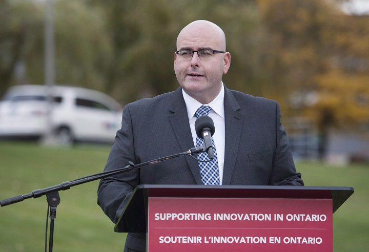 Steven Del Duca is set to speak on back-to-school plans in London.