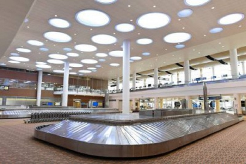 The terminal at Winnipeg's Richardson International Airport.