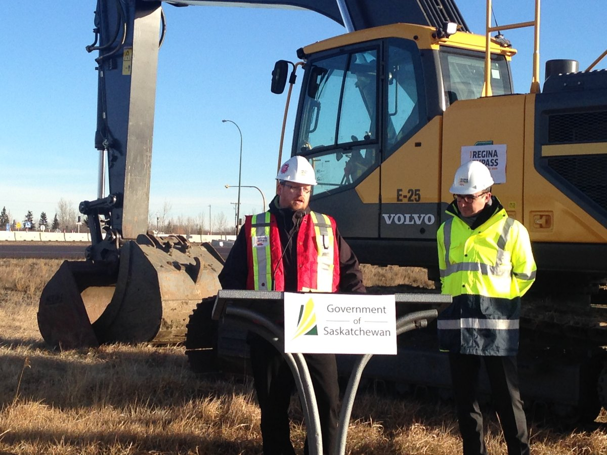 The construction is the first phase of the $1.8 billion bypass project, which is the largest infrastructure undertaking in the Saskatchewan's history.
