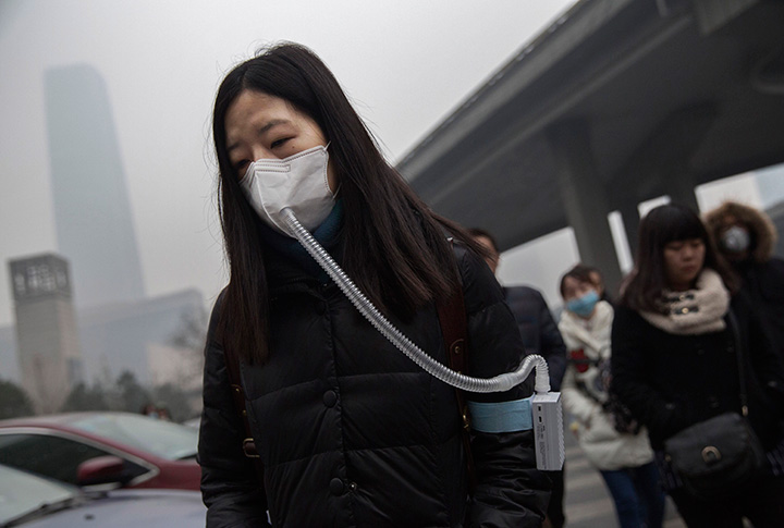 Pollution is a severe problem in China, and factories often break environmental laws by releasing pollutants into the air, water and soil.