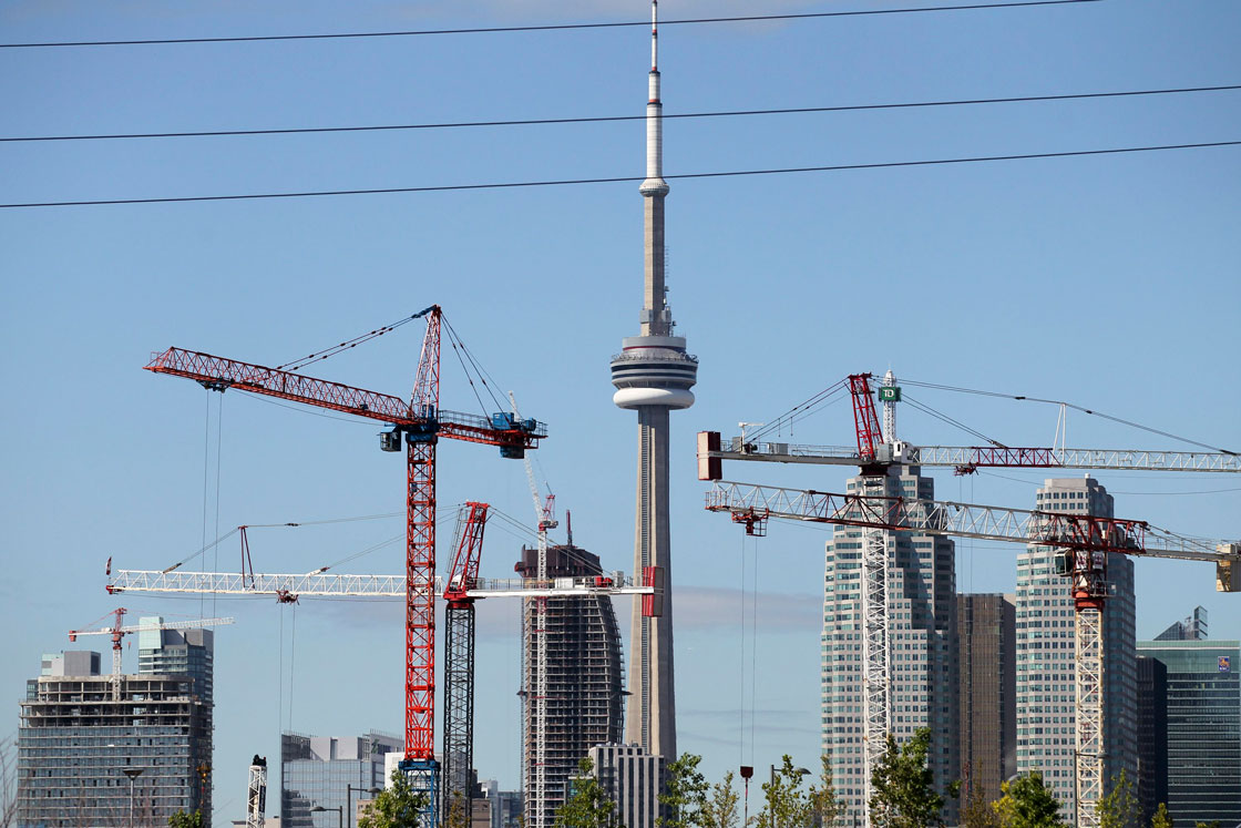 Condo construction in Canadian cities has boom in recent years -- nowhere moreso than in Toronto.