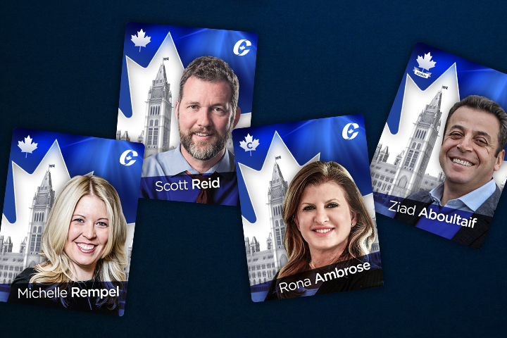 Meet the Conservative shadow cabinet - in trading card form!.