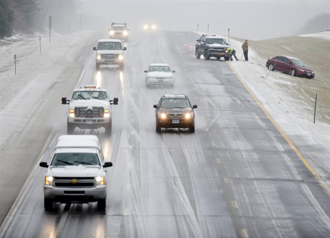 Police say drivers should prepare themselves by planning their trip before starting out.