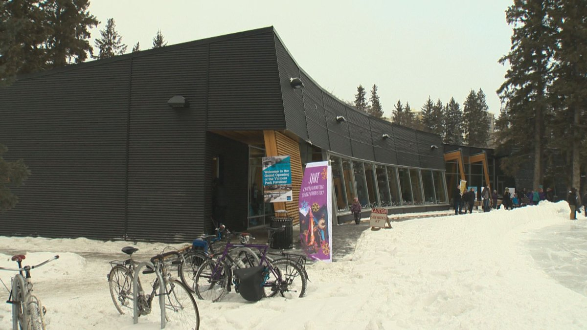 The City of Edmonton opened the doors on a new pavilion in Victoria Park on Dec. 12, 2015.