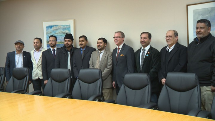 In a wide-ranging meeting, Premier Brad Wall and local Muslims discussed topics like Syrian refugees, charitable giving and misconceptions about Islam.