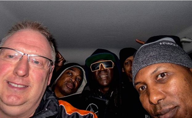 Public Enemy hitches a ride with a fan
