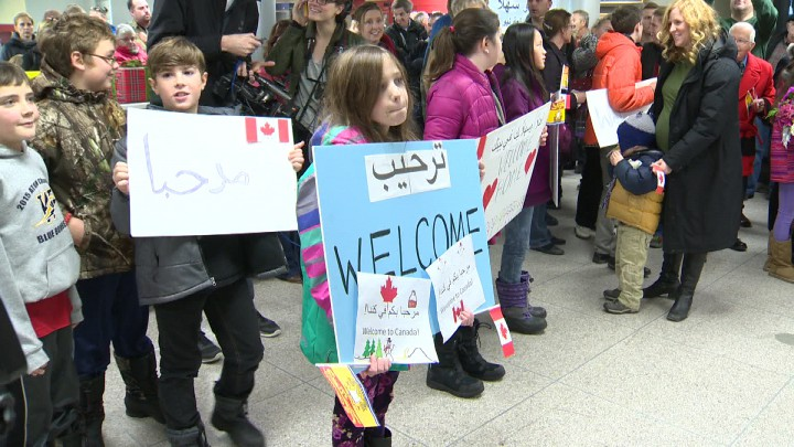 A new report by the Atlantic Provinces Economic Council shows 11,600 immigrants came to Atlantic Canada in the first nine months of 2016, due in part to an influx of Syrian refugees.