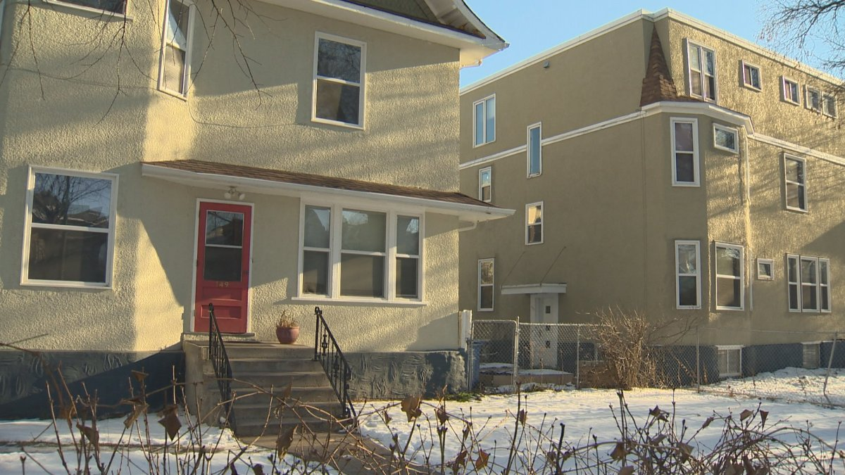 Two rooming houses with roughly 20 units combined, on Spence Street in Winnipeg.