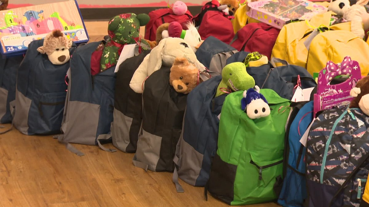 The Stephen's Backpack project is to offer hope in a Christmas backpack gift for children in need.