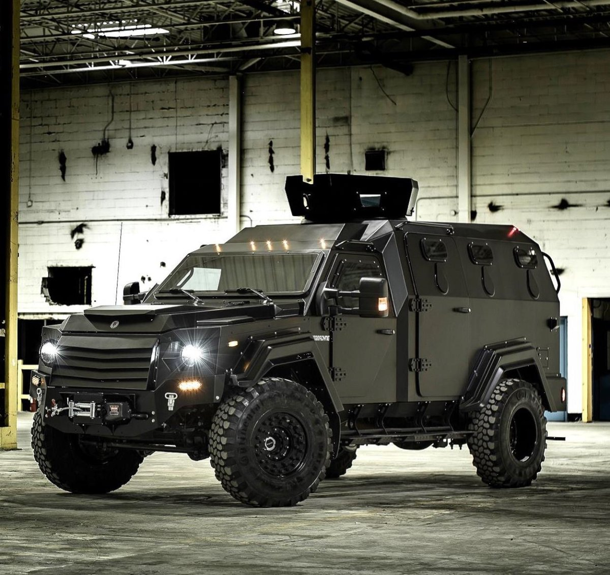 The Winnipeg Police Service has acquired an armoured vehicle much like this one.
