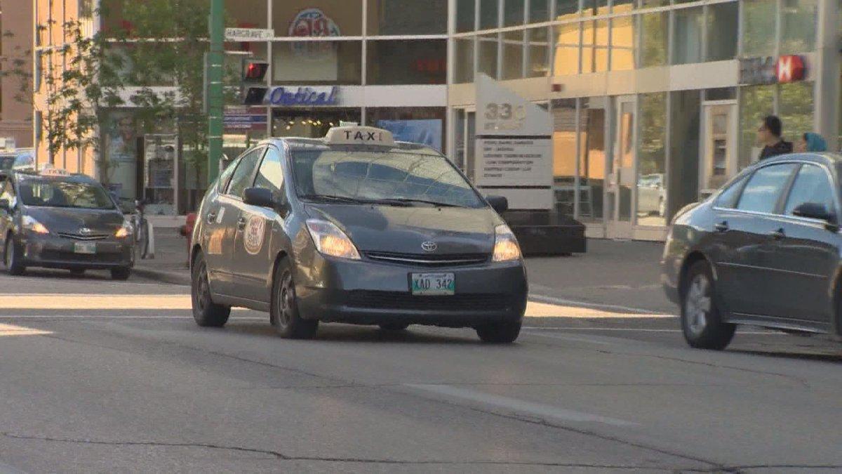 Winnipeg taxi cab.