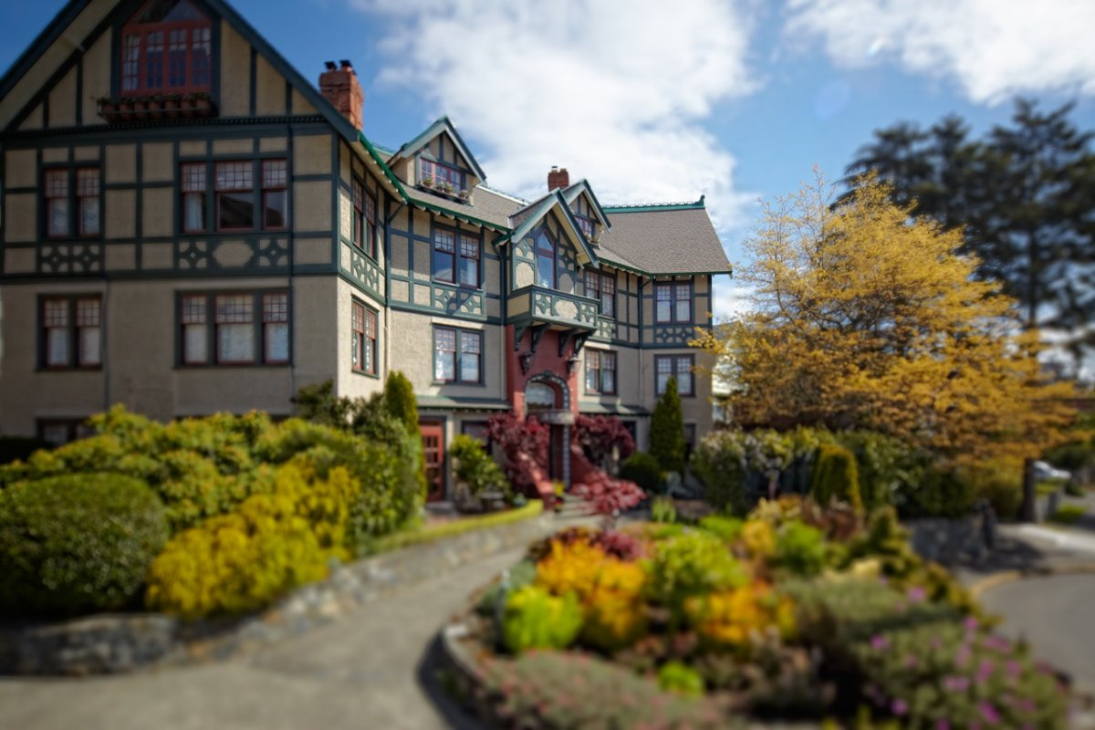 Abigail's Hotel in Victoria came in tenth on Trivago's list of Canada's top hotels.