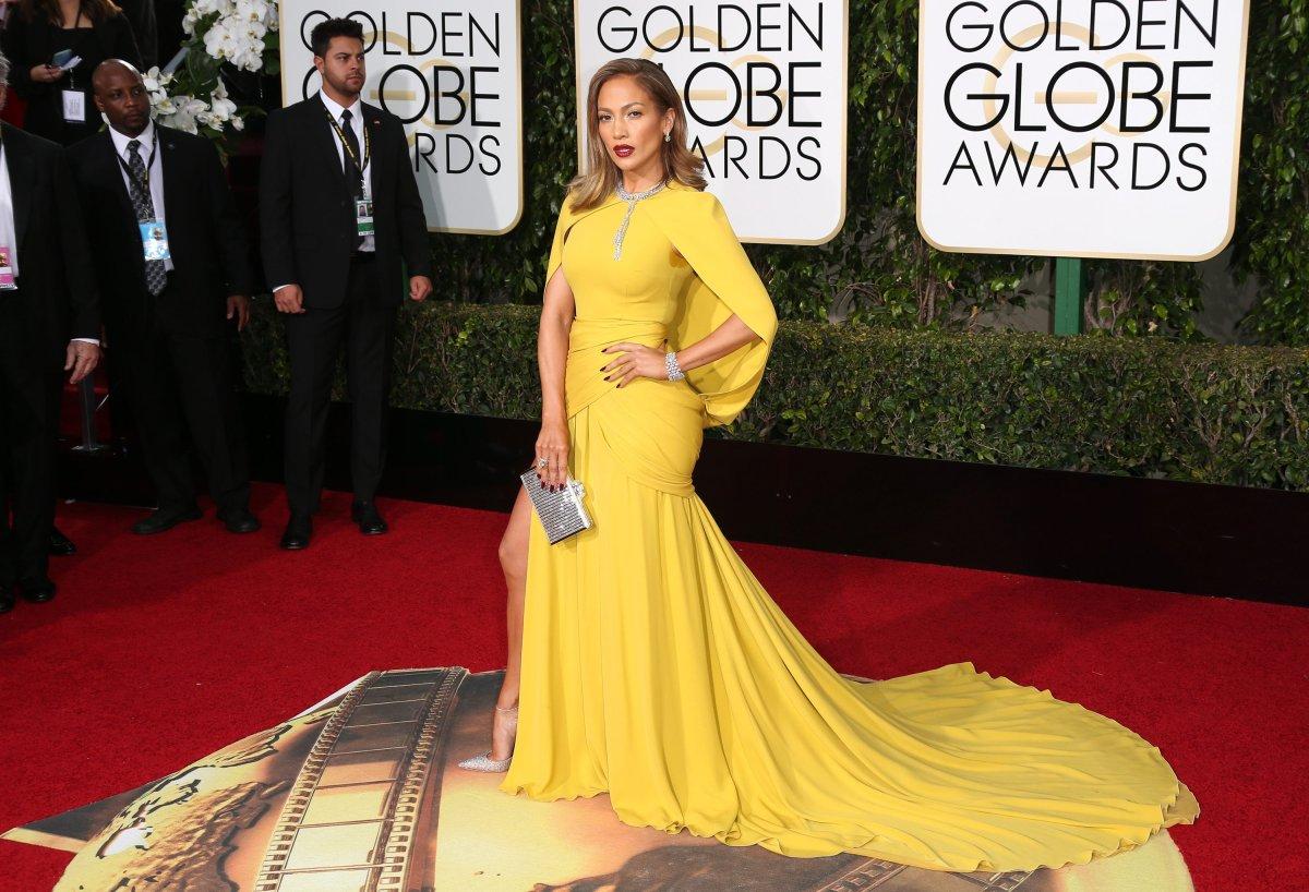 Jennifer Lopez at the 73rd Annual Golden Globe Awards, Arrivals, Los Angeles, America - 10 Jan 2016.