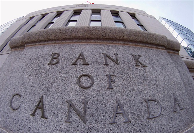 The Bank of Canada in Ottawa.
