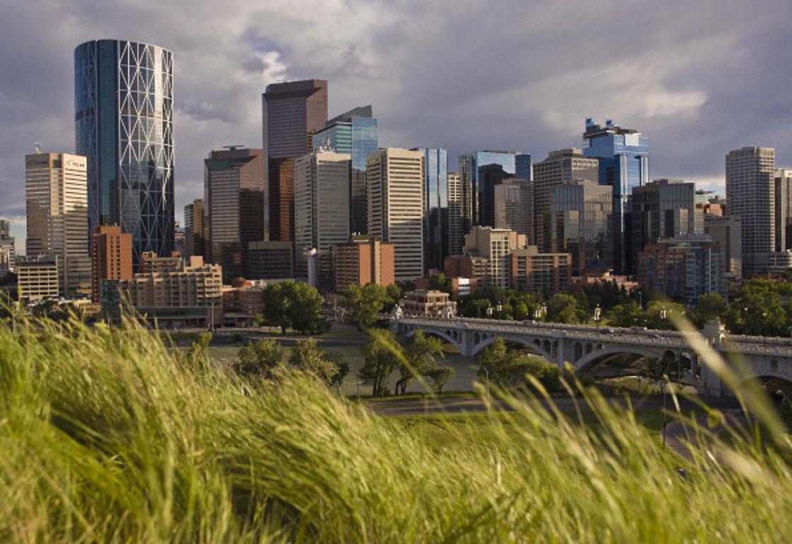 Calgary's skyline.