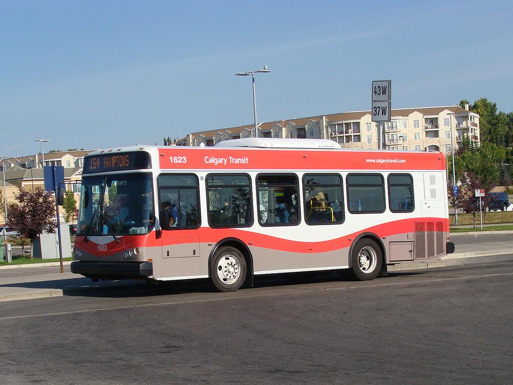 FILE: A Calgary Transit bus .