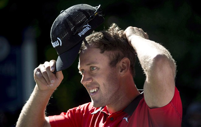 Former NHL star Ray Whitney ready to caddie for Graham DeLaet (pictured) at Rio 2016 as golf returns to the Olympics for the first time since 1904.