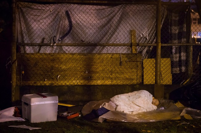 B.C. advocacy group says new federal funding to ease homelessness just a 'drop in the bucket' - image