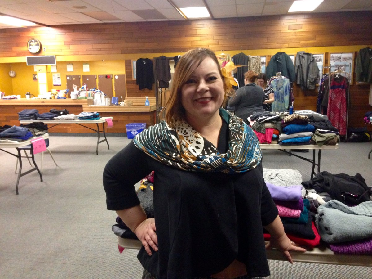 The first Curvy Girl Clothing Exchange will happen at the St. James legion at 7 p.m.