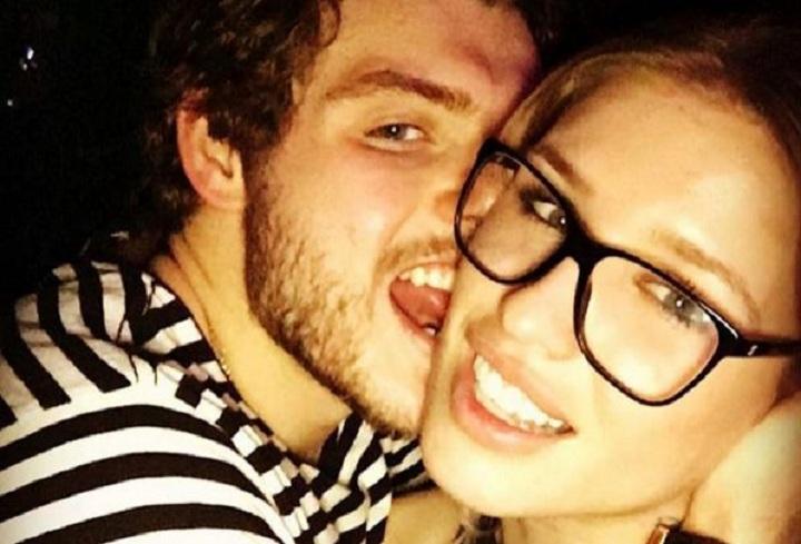 Canadiens forward Alex Galchenyuk posted a playful photo with girlfriend Chanel Leszczynski two weeks ago.