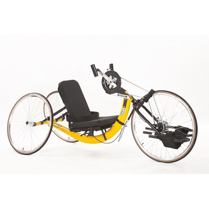 Windsor police are asking the public for help in locating a missing hand-cycle, similar to the one shown in this photo but in black.