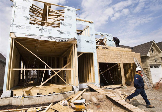 Newly constructed homes are coming up for sale in already softening housing markets, experts say.