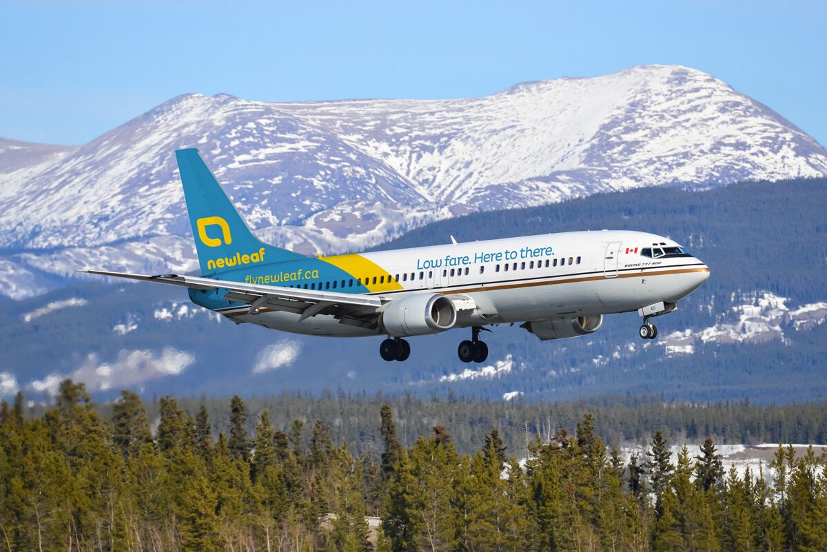 Discount airline NewLeaf Travel announced its prices and destinations Wednesday morning.