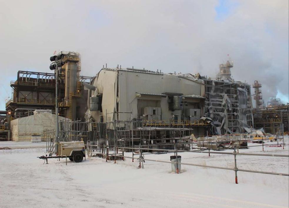 File photo of Nexen's Long Lake facility near Fort McMurray, Alta.