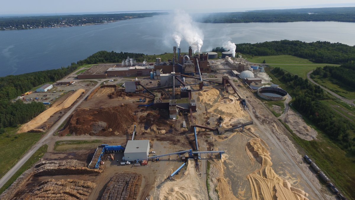 A Northern Pulp mill near Pictou Landing reported a leak on one of their effluent pipes.