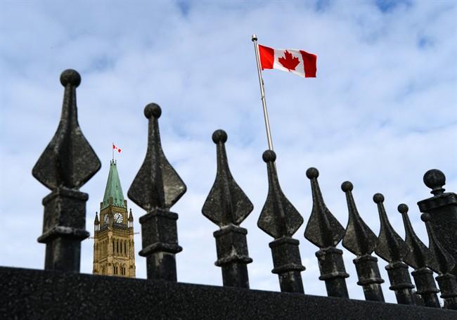 Parliament Hill in Ottawa on Friday, Jan. 22, 2016.