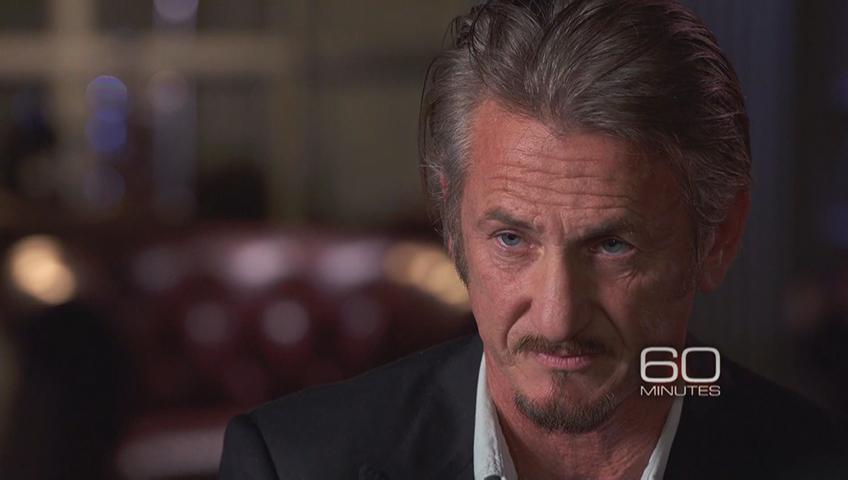 Sean Penn on '60 Minutes'