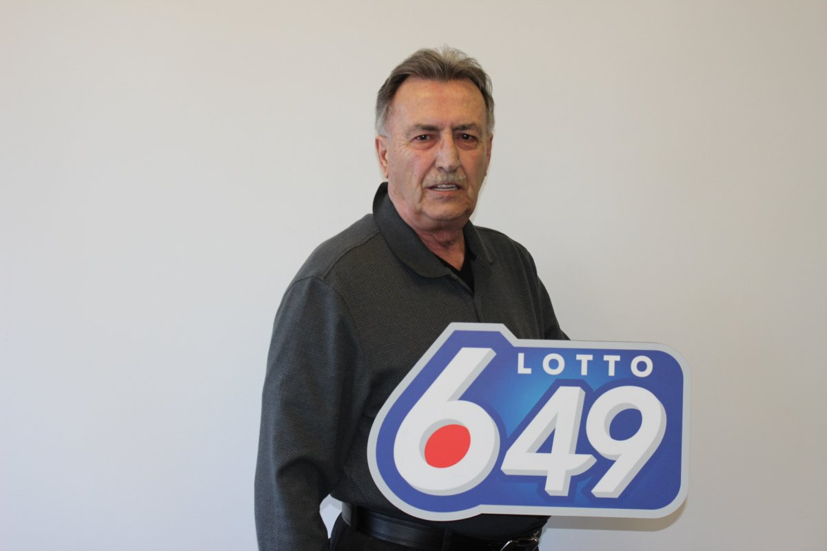 Roland Tessier is Winnipeg's newest millionaire, and the first millionaire lottery winner of 2016.