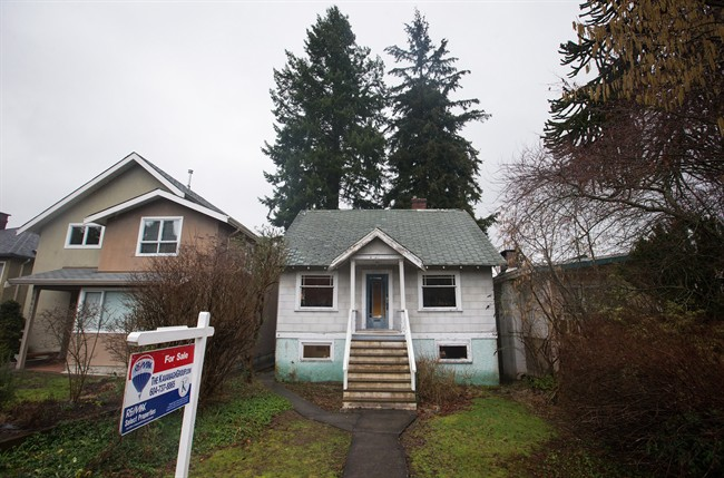 A house built in 1930 that was recently listed for sale for $2.398-million is seen in the Point Grey neighbourhood of Vancouver, B.C., on Friday January 29, 2016.