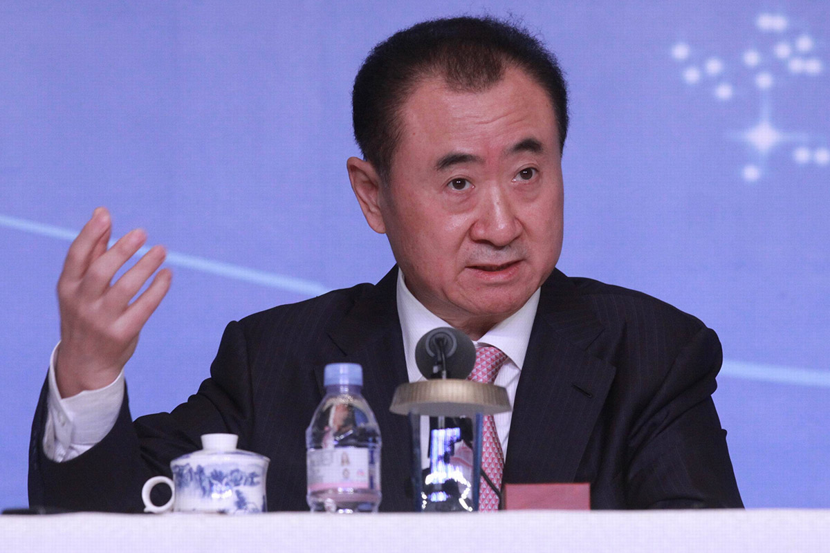 Wang Jianlin, Chairman of Wanda Group.