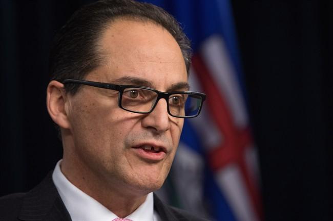 Alberta Finance Minister Joe Ceci.