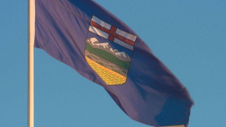 Alberta flag.